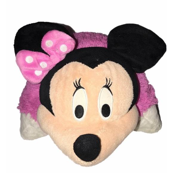 Disney Pillow Pets Minnie Mouse Pink Plush Pillow